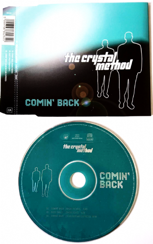 Crystal Method ‎(The) - Comin' Back (CD Single Pt 1) (G/EX)